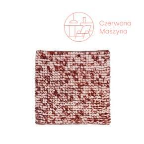 Dywanik łazienkowy Aquanova Kaya 60 x 60 cm, mahogany
