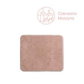 Dywanik łazienkowy Kela Livana, 65 x 55 cm, różowy