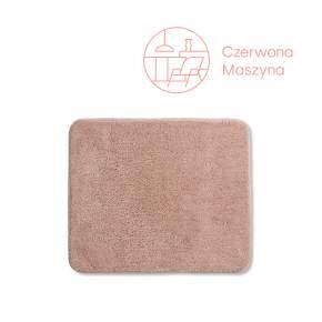 Dywanik łazienkowy Kela Livana, 80 x 50 cm, różowy