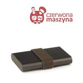 Power Bank Lexon Fine, brązowy