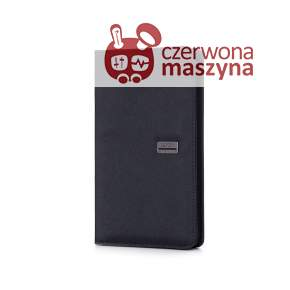Etui na paszport Lexon Premium, czarne
