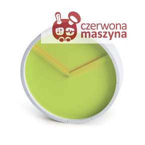 Zegar ścienny Lexon Glow zielony