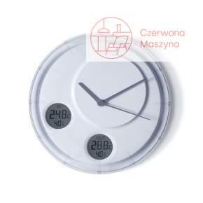 Zegar ścienny Lexon Flow, biały