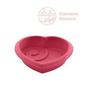 Forma silikonowa do pieczenia Lurch FlexiForm, różowe serce
