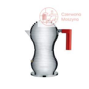 Kawiarka Alessi Pulcina 300 ml, czerwona