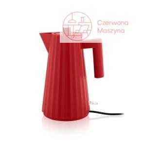 Czajnik elektryczny Alessi Plissé 1,7 l, czerwony