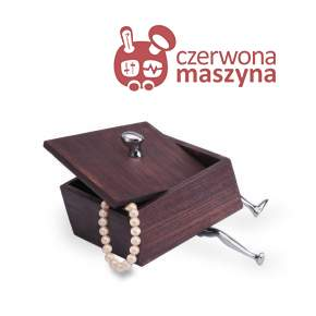 Pudełko na biżuterię Mukul Goyal Walkers 14,5 cm
