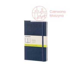 Notes Moleskine Classic L gładki, twarda oprawa, 240 strony, szafirowy
