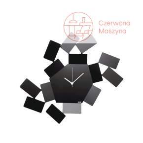 Zegar ścienny Alessi La Stanza dello Scirocco, czarny