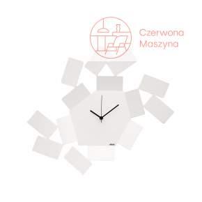 Zegar ścienny Alessi La Stanza dello Scirocco, biały