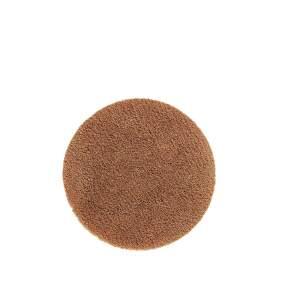 Dywanik łazienkowy Aquanova Musa Ø 80 cm, cinnamon