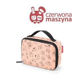 Torba termiczna na lunch Reisenthel Thermocase kids 1,5 l, rose
