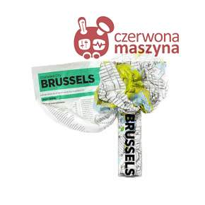Mapa Palomar Crumpled City Brussels