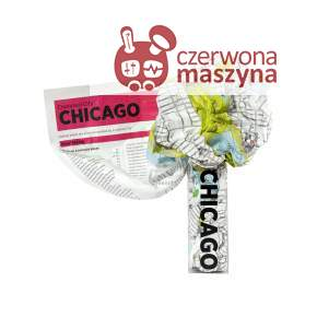 Mapa Palomar Crumpled City Chicago