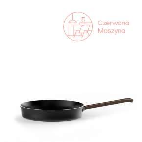 Patelnia Alessi Edo 28 cm, czarna