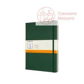 Notes Moleskine Classic XL w linie, twarda oprawa, 192 strony, myrtle green