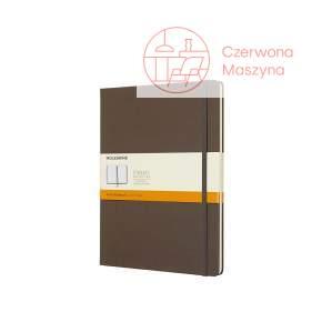 Notes Moleskine Classic XL w linie, twarda oprawa, 192 strony, earth brown