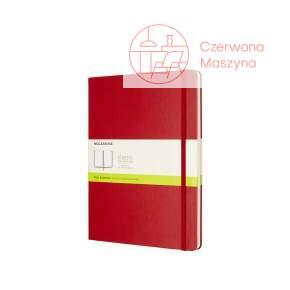 Notes Moleskine Classic XL gładki, twarda oprawa, 192 strony, czerwony