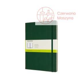 Notes Moleskine Classic XL gładki, twarda oprawa, 192 strony, myrtle green
