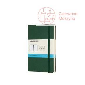 Notes Moleskine L w kropki, miękka oprawa, 192 strony, myrtle green