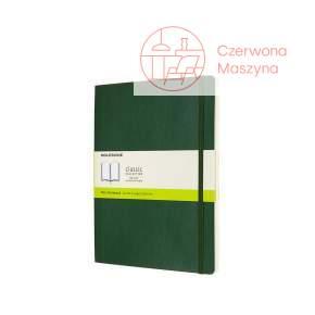 Notes Moleskine XL w gładki, miękka oprawa, 192 strony, myrtle green