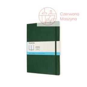 Notes Moleskine XL w kropki, miękka oprawa, 192 strony, myrtle green