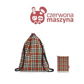 Worek / plecak Reisenthel Mini Maxi Sacpack glencheck red