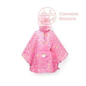 Peleryna Reisenthel Kids Mini Maxi Poncho M abc friends pink