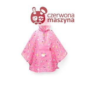 Peleryna Reisenthel Kids Mini Maxi Poncho M abc friends pink