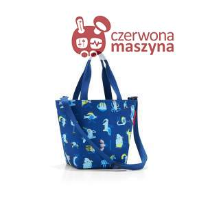 Torba Reisenthel Shopper XS Kids abc friends blue