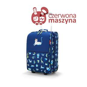 Walizka Reisenthel Trolley XS Kids abc friends blue