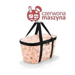 Torba termiczna Reisenthel Coolerbag XS Kids cats and dogs rose
