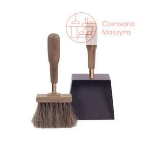 Zmiotka i łopatka Eldvarm Emma Classique ciemne drewno