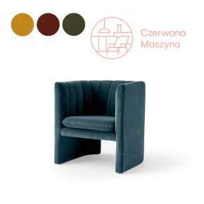 Fotel &tradition Loafer SC23 gr. 1 – Kvadrat / Chivasso