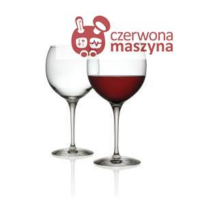 4 Kieliszki do wina czerwonego Alessi Mami XL 650 ml