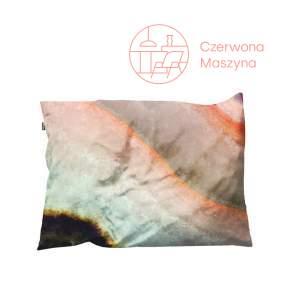 Poszewka dekoracyjna na poduszkę Snurk Macro Mineral 35 x 50 cm, różowa
