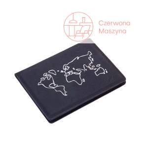 Etui na paszport Troika Pass Auf czarne
