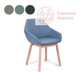 Krzesło tapicerowane Paged Tuk 1, kategoria 1, buk