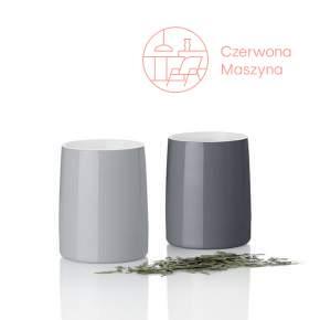 2 Kubki termiczne Stelton Emma 250 ml, szare
