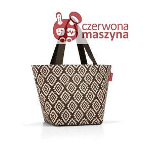 Torba na zakupy Reisenthel Shopper M 15 l, diamonds mocha