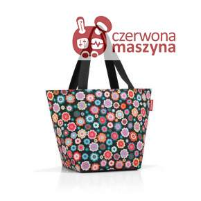 Torba na zakupy Reisenthel Shopper M 15 l, happy flowers