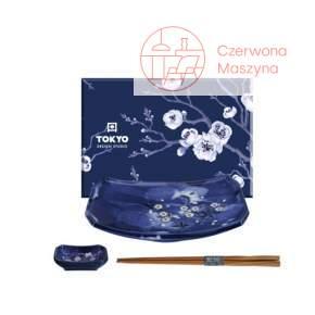Zestaw do sushi Tokyo Design Studio Blue Sakura