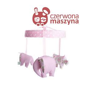 Karuzela Zuzu Toys Sawanna różowa