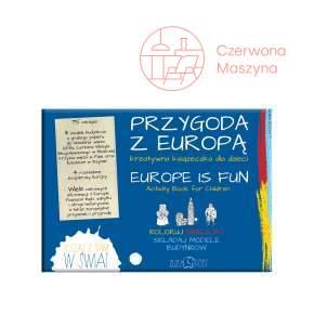 """Książeczka kreatywna """"Przygoda z Europą"""" Zuzu Toys"""