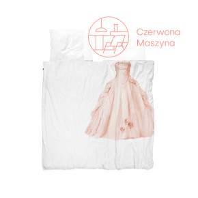Pościel Snurk Princess 200 x 200 cm, różowa
