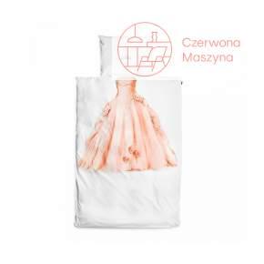 Pościel Snurk Princess 135 x 200 cm, różowa