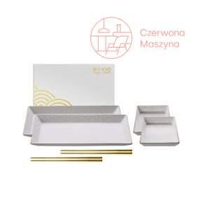 Zestaw do sushi Tokyo Design Nippon White Gold Rim