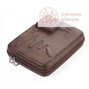 Organizer podróżny Troika Travel Case XL z suwakiem brązowy