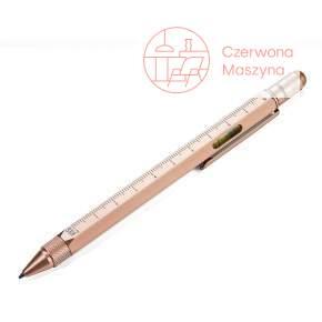 Długopis wielozadaniowy Troika Construction różowe złoto