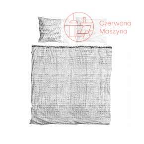Pościel Snurk Twirre cotton, szara 200 x 200 cm